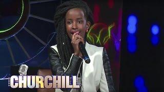 Churchill show - When Wangechi The Rapper woow-ed the crowd