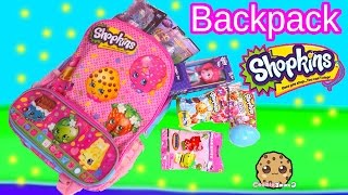 Shopkins Backpack Filled With My Little Pony, Monster High, Blind Bags, Toys - Cookieswirlc Video