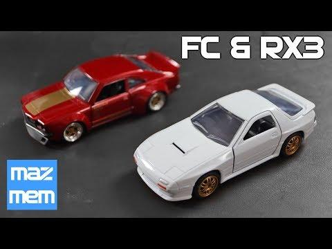JADA Toys Mazda RX7 FC and Rx3 - Mazda Memorabilia