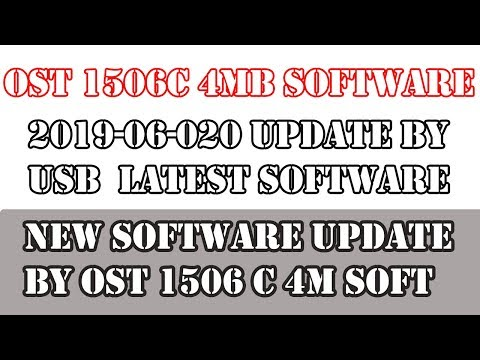 PROTOCOL WIFI OST 1506C 4MB SONY OK 2019-06-20|new software 1506c