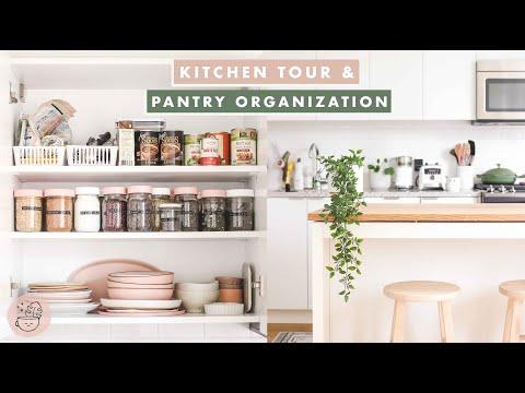 Vegan Kitchen Tour & Pantry Organization 🌿  Veggiekins