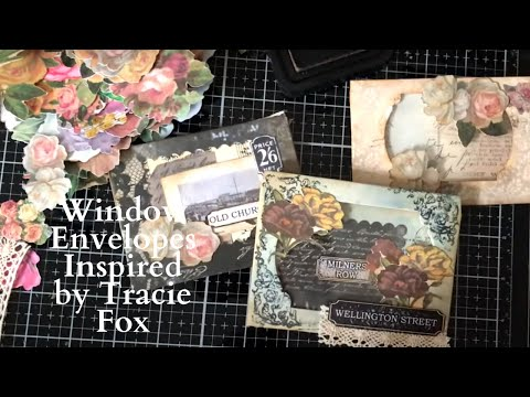 How to Make Window Envelopes - Tracie Fox Inspired