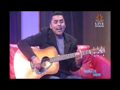 Laija Re - Kali Prasad Baskota LIVE (HUAWEI Namaste TV Show)