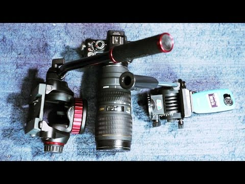 Manfrotto MVH502AH video head. BEYOND UNBOXING! Review and vs Velbon PH-368