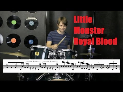 Little Monster Drum Tutorial | Royal Blood