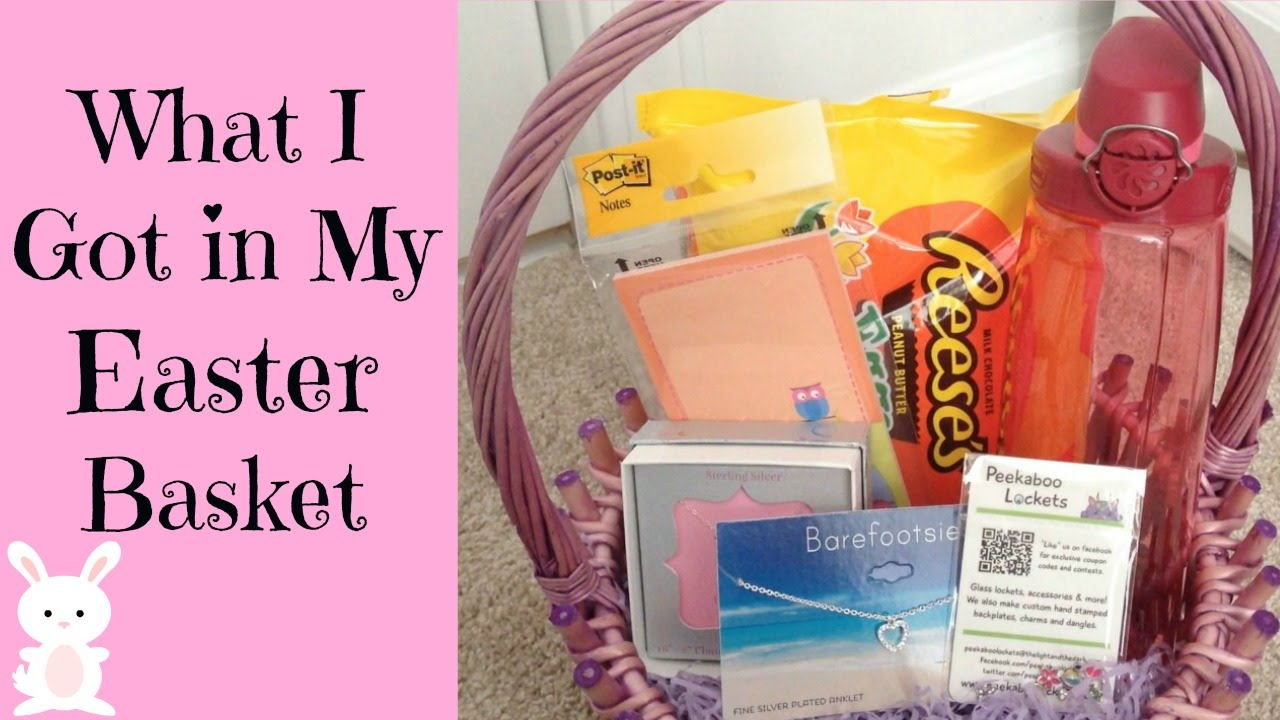 What i got in my easter basket 2015 mom edition youtube what i got in my easter basket 2015 mom edition negle Choice Image