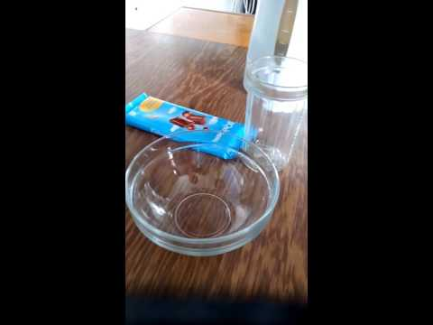 Как растопить шоколад за 2-3 минуты.