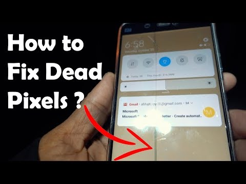 How to Fix Touch Screen Dead Pixels / Stuck Pixels for Free