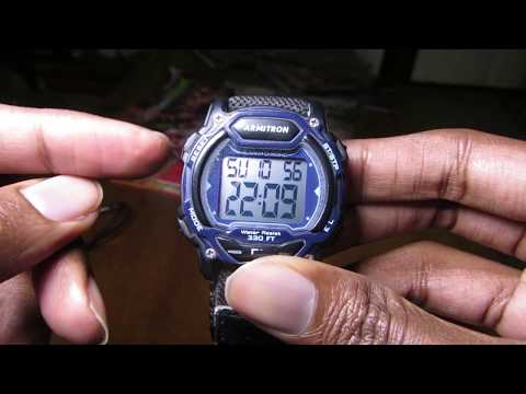 ⌚⌚ How To Change The Time On Any Armitron Watch ⌚⌚