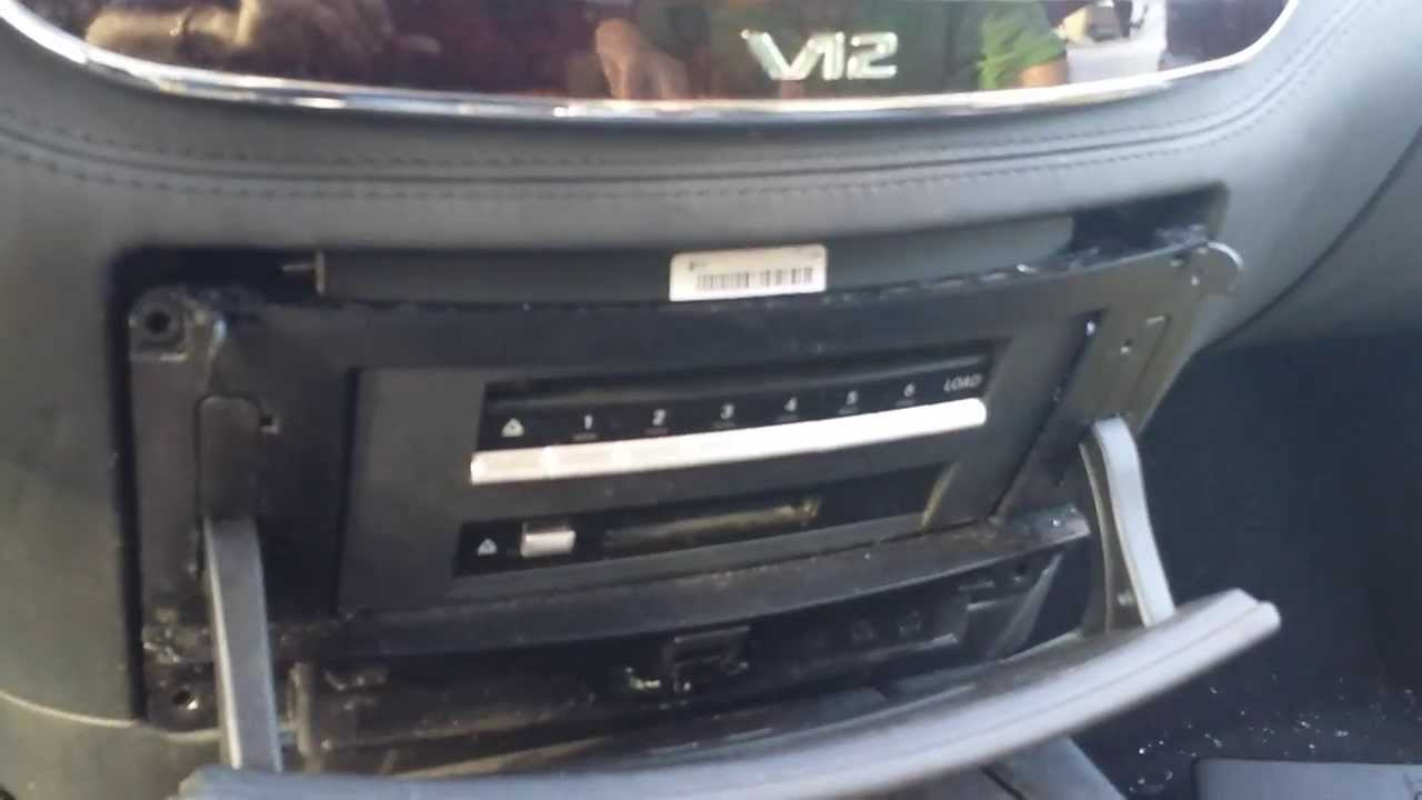 how to remove cd changer command unit from mercedes s  how to remove cd changer command unit from mercedes s550 2007 for repair