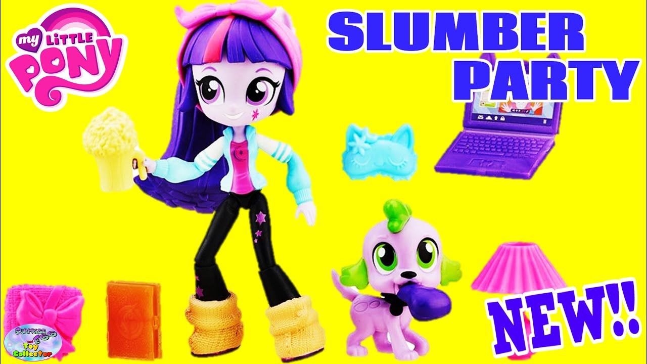 My Little Pony Equestria Girls Minis Slumber Party Twilight
