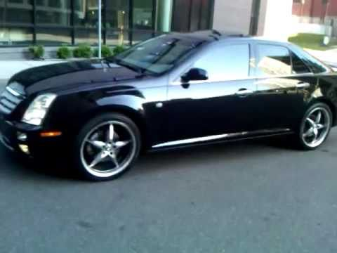 Black Raven Cadillac Sts 4 V8 With 20 Inch Rims No Keys