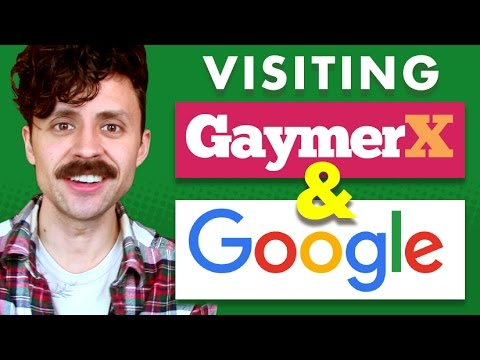 California trip: review of GaymerX and Google campus