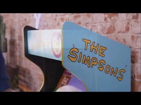 Arcade1up The Simpsons Arcade Game Trailer from The Collectors Zone