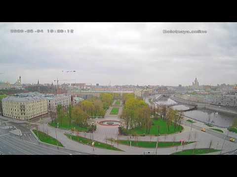 Запись Репетиция воздушного парада со стационарной камеры