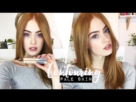 HOW TO CONTOUR PALE SKIN | NATURAL LOOK | MsRosieBea | AD