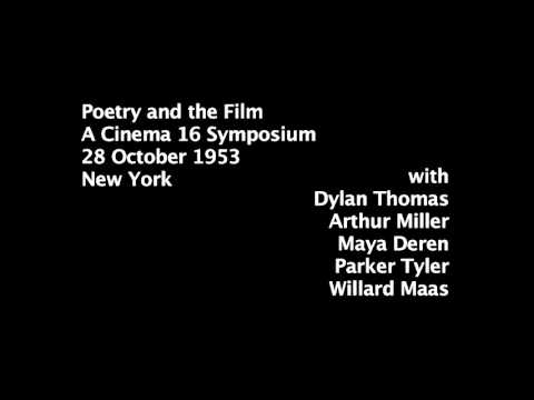 Poetry and the Film Cinema 16 (1953)