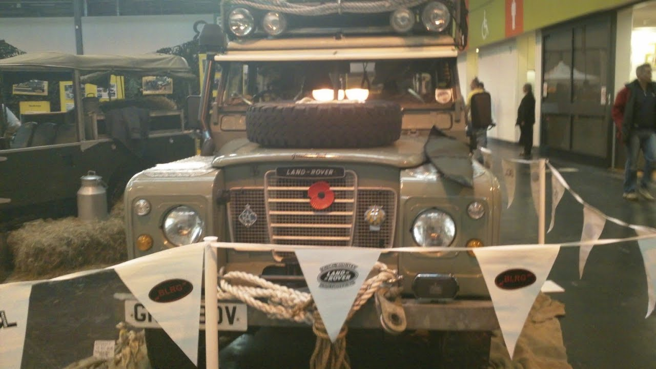 nec classic car show birmingham land rover group youtube. Black Bedroom Furniture Sets. Home Design Ideas