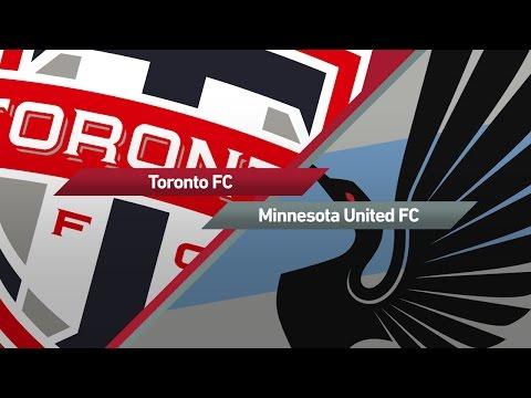 Highlights: Toronto FC vs. Minnesota United FC   May 13, 2017