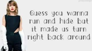 Taylor Swift I Wish You Would Lyrics oficial