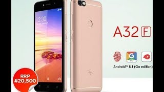 ITEL A32F SMART PHONE UNBOXING... || FINGERPRINT FOR EVERYONE IN NAIJA || LOW PRICE