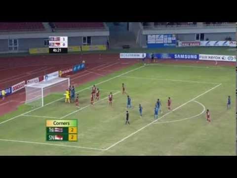 27th SEA Games (Football Semi-finals): Singapore vs Thailand