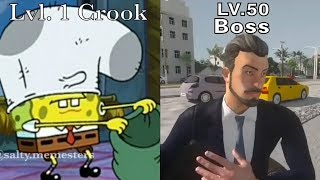 mafia city memes thats how mafia works lvl 1 crook lvl 35 boss mobile ads