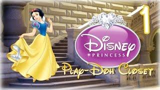 Disney Princess Play Doh Closet Episode 1 - Snow White