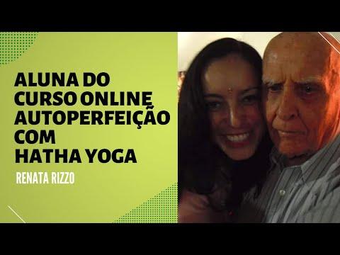 Renata, aluna do Curso Online Autoperfeição com Hatha Yoga