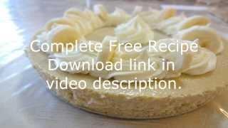 Free Banana Cream Cheesecake Recipe Video + Download