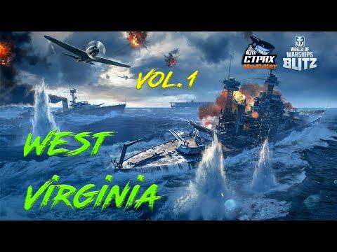 WOWS BLITZ Флот СТРАХ: West Virginia VII