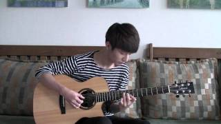 "Sungha http://www.sunghajung.com arranged and played ""Carrying You""..."