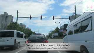 Way from Chisinau to Golf-club