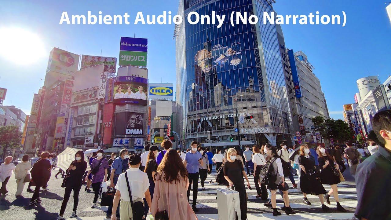 4K Tokyo Walk - Shibuya in the Summer of 2020 - Slow TV (No Narration)