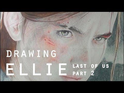 Pencil Drawing | Desenhando | ELLIE The Last of Us PART 2 | FGDRAWINGS