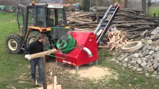 MARY AGRI - Présentation scie à tambour // scie automatique