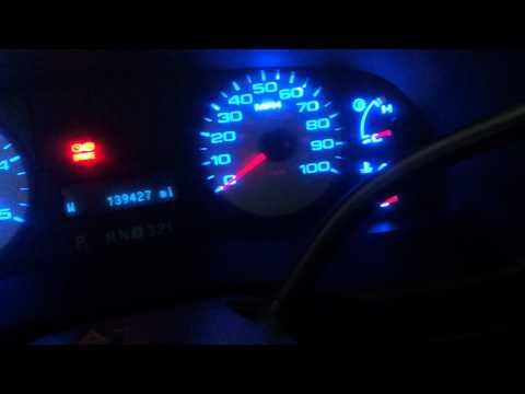 2006 ford f350 gauge cluster blue LED