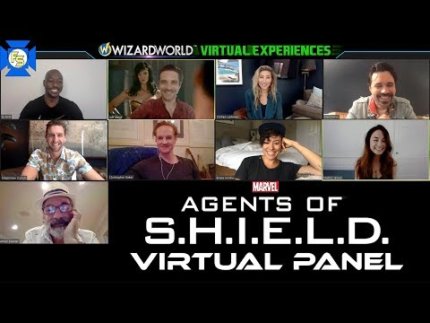 AGENTS OF SHIELD Panel – Wizard World Virtual Experiences 2020
