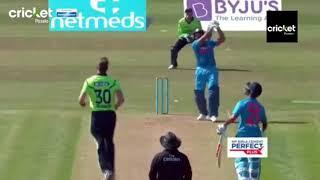 India vs Ireland 1st t20 rohit and dhawan partnership of 200