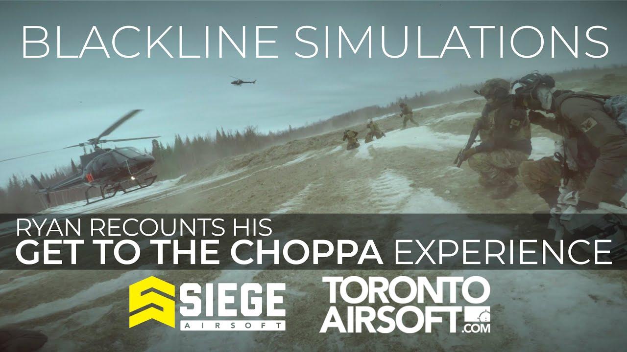 GET TO THE CHOPPA! Ryan recounts his blackline simulations experience.