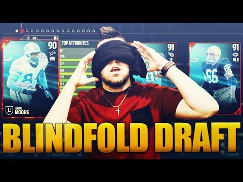 MADDEN 17 DRAFT CHAMPS - BLINDFOLD DRAFT (Legend Round!!!!)