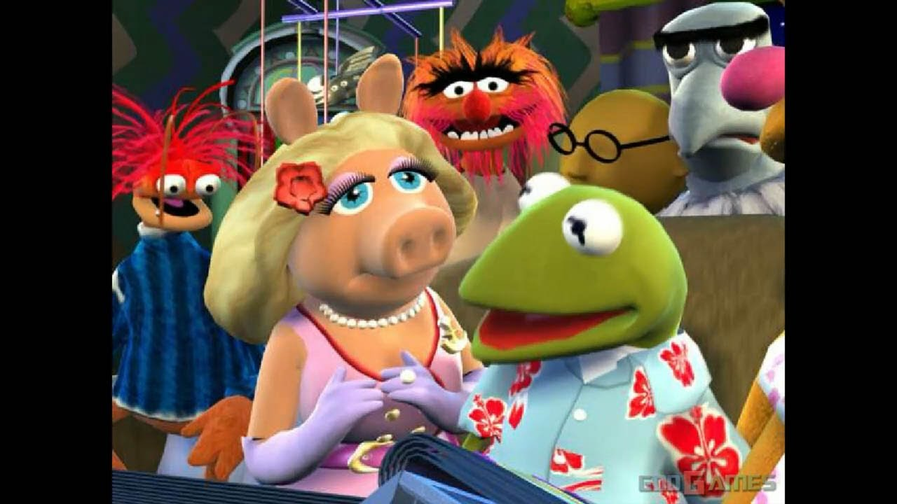 muppets party cruise gameplay gamecube hd 720p dolphin