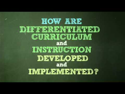 Differentiated Curriculum And Pedagogy For Gifted And High Ability