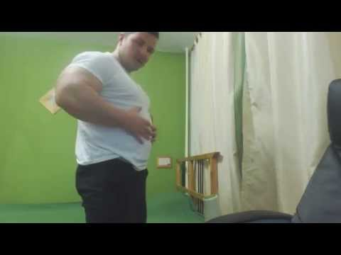 Gabriel MuscleDominus-show overeaten huge belly3