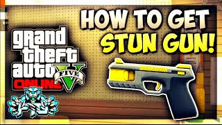 GTA 5 Online: How to Get the Stun Gun and Other DLC weapons/ammo After patch 1.26/1.28