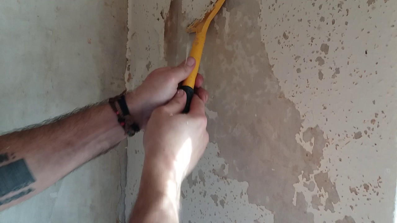 How To Remove WoodChip Wallpaper Easy Method