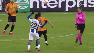 Ruben Neves scores STUNNING volley vs Espanyol in Europa League!