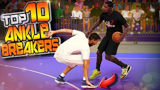 TOP 10 MEANEST Crossovers & DOUBLE ANKLE BREAKERS Of The Week #50 - NBA 2K20