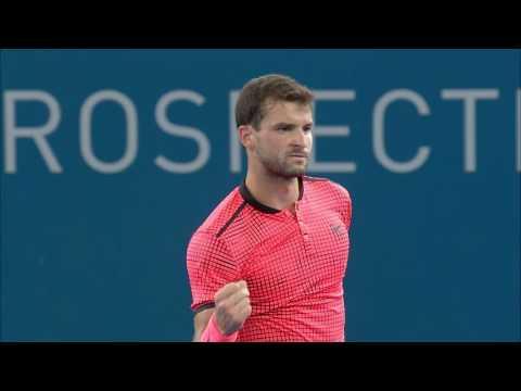 Match Highlights from Dimitrov/Theim (QF) | Brisbane International 2017