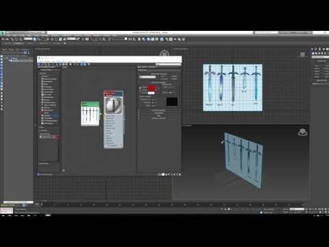 3DS Max -  Otrhographics / Freeze / See-Through